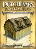 Dutch Barn Paper Model