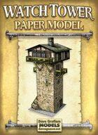 Watch Tower Papercraft Model