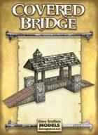 Covered Bridge Paper Model