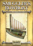 Smuggler's Rowboat Paper Model