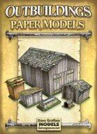 Outbuildings Paper Models Set