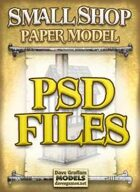 Small Shop PSD Files