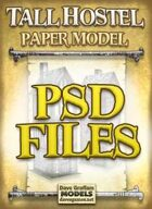 Tall Hostel PSD Files