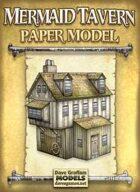 Mermaid Tavern Paper Model