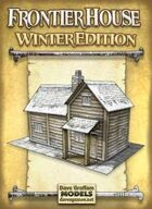 Frontier House Winter Edition Paper Model