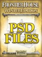 Frontier House Winter Edition PSD Files