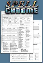 Spellchrome Character Sheet