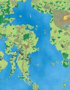 Wilderlands of High Fantasy, Color Maps