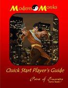 Modern Monks Quick Start Player's Guide