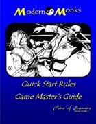 Modern Monks Quick Start Game Master Guide