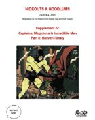Supplement IV: Captains, Magicians, & Incredible Men: Pt. II - Harvey-Timely
