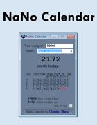NaNo Calendar