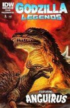 All-New Secret Identity #32--New Mutants, Annihilators and Godzilla