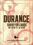 Durance: Surveyor Cards
