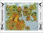 Wilderlands of High Adventure: Rhadamanthia Continental Map
