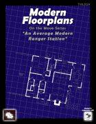 Modern Floorplans: An Average Modern Ranger's Station