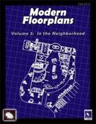 Modern Floorplans Volume 3: In the Neighborhood [BUNDLE]