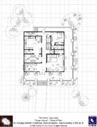 Modern Floorplans: Craftsman Style Bungalow