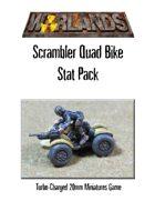 Warlands Scrambler Quad Bike Stat Pack