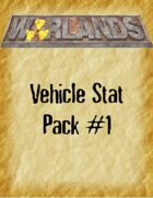 Warlands Vehicle Stat Pack #1