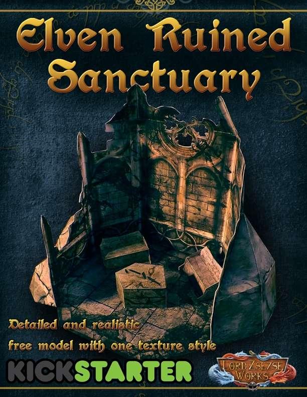 Elven Ruined Sanctuary