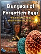 Dungeon of Forgotten Eggs - Coupon book