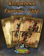Steampunk Playing Card