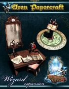 Elven Papercraft - Wizard Items Expansion