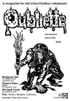 OUBLIETTE Issue 4