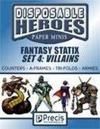 Disposable Heroes Fantasy Statix 4: Villains