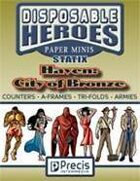 Disposable Heroes Statix - Haven: City of Bronze