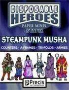Disposable Heroes Steampunk Musha Statix
