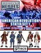 Disposable Heroes American Revolution Statix 1