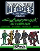 Disposable Heroes Cyberpunk Statix 1 (Anime 203X)