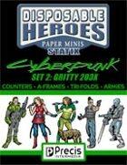 Disposable Heroes Cyberpunk Statix 2 (Gritty 203X)