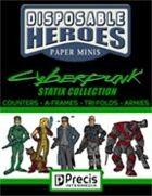 Disposable Heroes Cyberpunk Statix Collection [BUNDLE]
