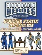 Disposable Heroes Soldier Statix 2: Civil War