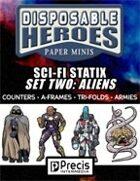 Disposable Heroes Sci-Fi Statix 2: Aliens