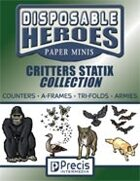 Disposable Heroes Critters Statix Collection [BUNDLE]