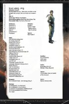 The Void Core – Additional Pregen Characters