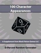 D-Percent - 100 Character Appearances