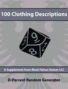 D-Percent - 100 Clothing Descriptions