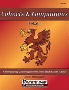 Cohorts & Companions - Tokala [PFRPG]