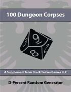 D-Percent - 100 Dungeon Corpses