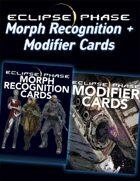 Eclipse Phase: Morph + Modifier Cards [BUNDLE]