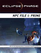 Eclipse Phase: NPC File 1: Prime
