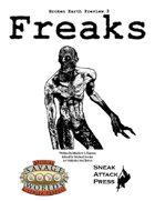 Broken Earth Prevew 3: Freaks (Savage Worlds)