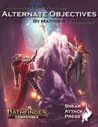 Alternate Objectives (PF2)