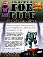 Foe File 03: Jackal Jester