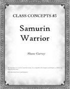 Class Concepts #3: Samurin Warrior